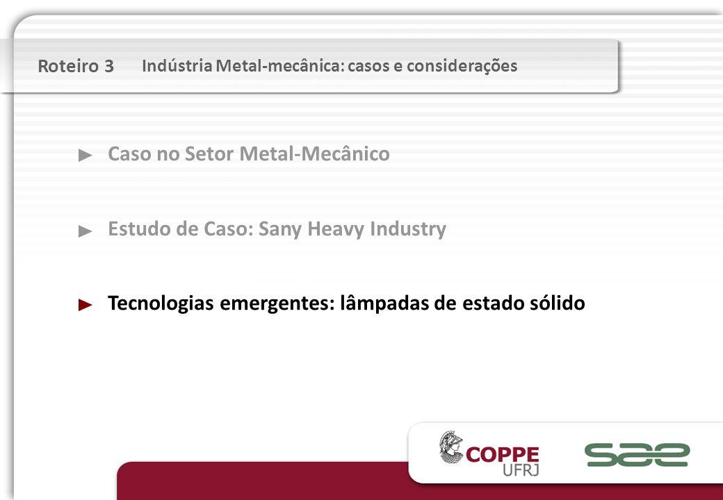 Caso no Setor Metal-Mecânico