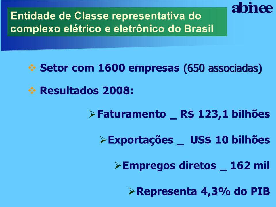 Entidade de Classe representativa do complexo elétrico e eletrônico do Brasil