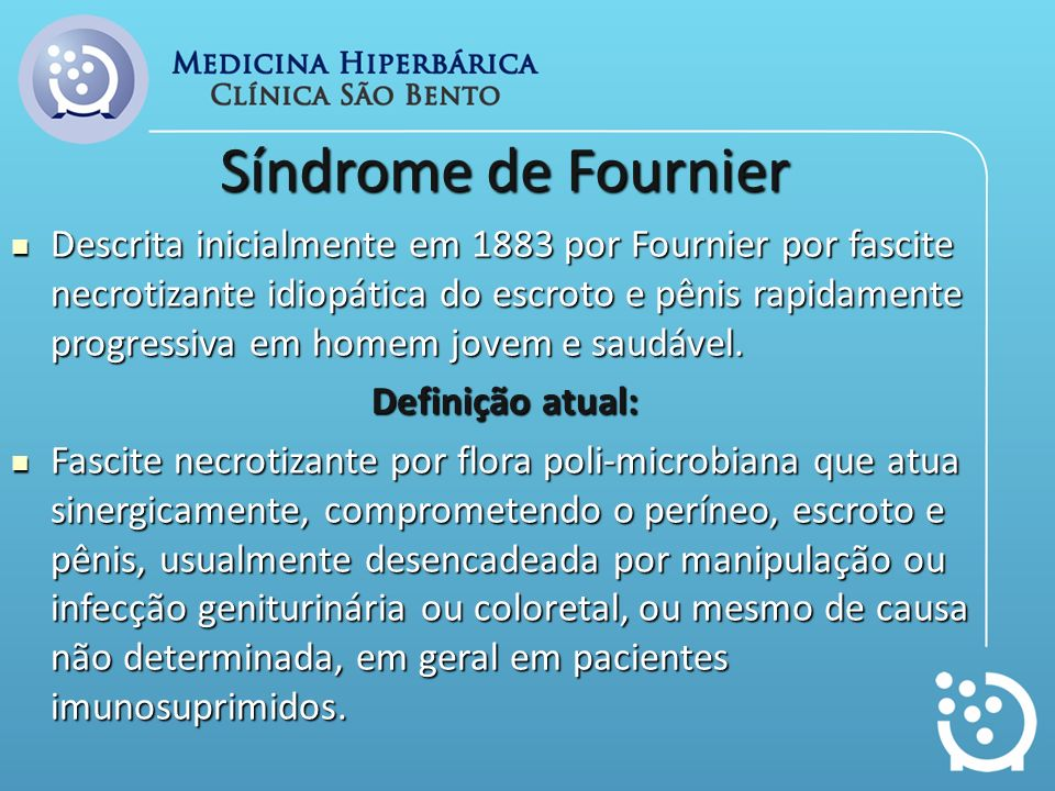Síndrome de Fournier