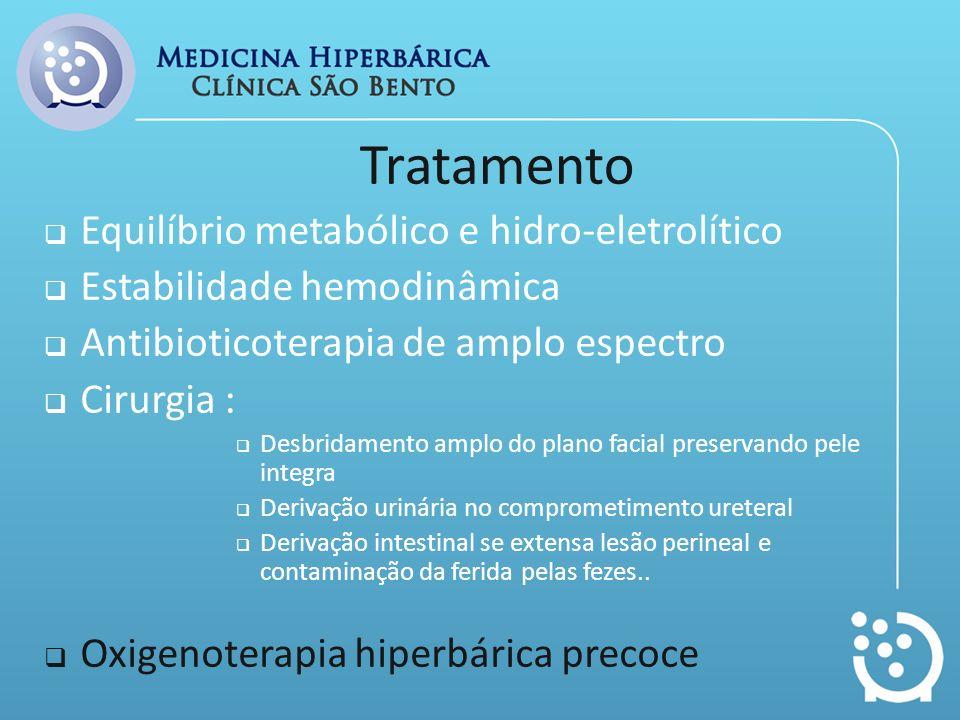 Tratamento Equilíbrio metabólico e hidro-eletrolítico