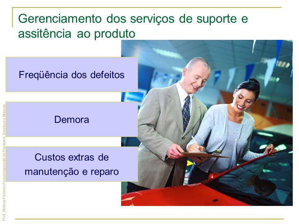 Gerenciamento dos serviços de suporte e assitência ao produto