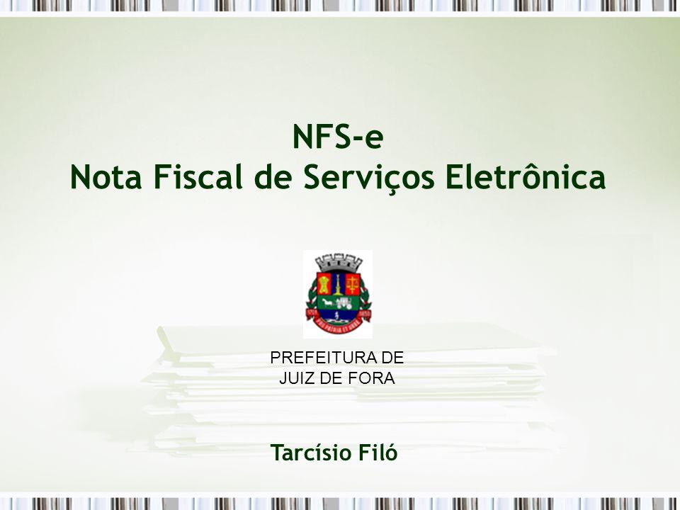 NFS-e Nota Fiscal de Serviços Eletrônica