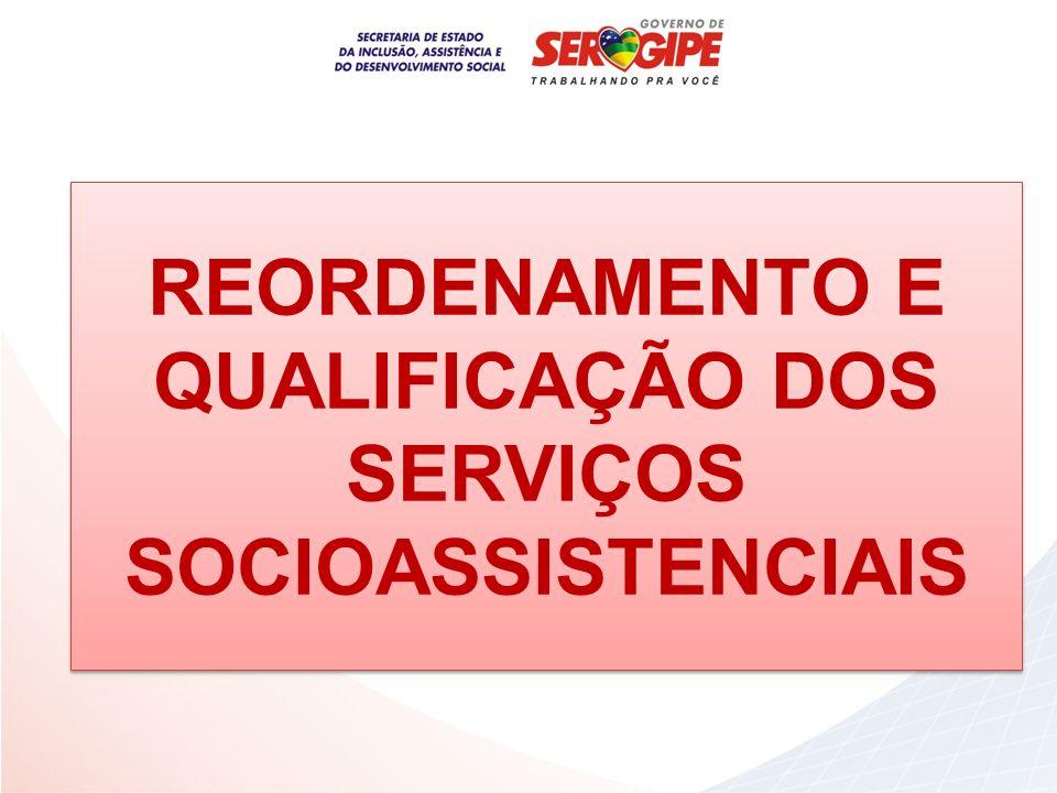 REORDENAMENTO E QUALIFICAÇÃO DOS SERVIÇOS SOCIOASSISTENCIAIS