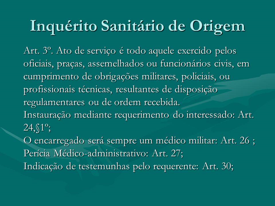 Inquérito Sanitário de Origem