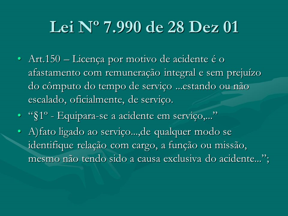 Lei Nº 7.990 de 28 Dez 01