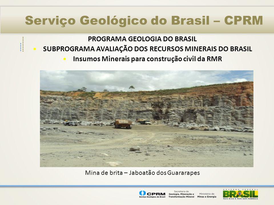 Serviço Geológico do Brasil – CPRM