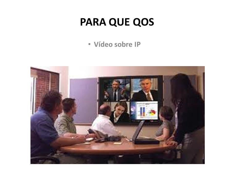 PARA QUE QOS Vídeo sobre IP