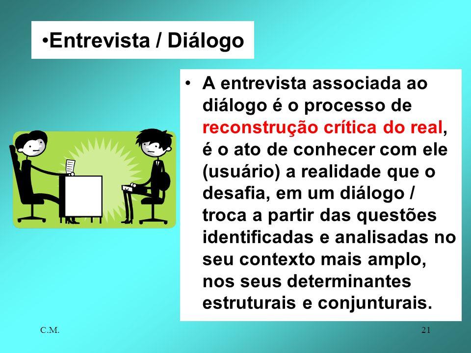 Entrevista / Diálogo