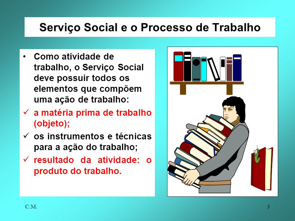 Serviço Social e o Processo de Trabalho