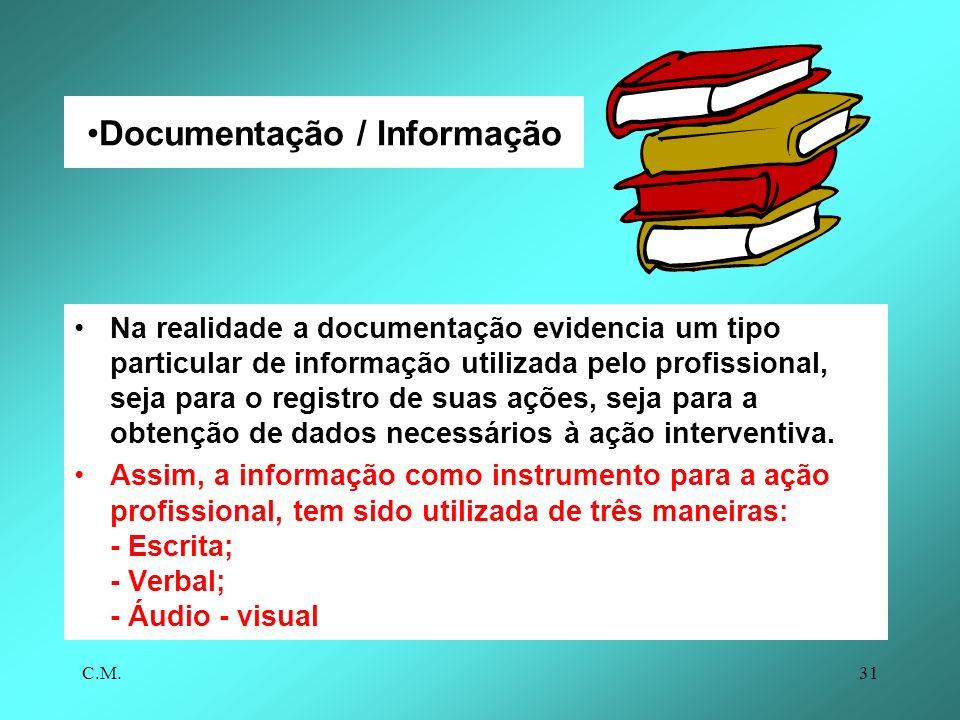 Documentação / Informação