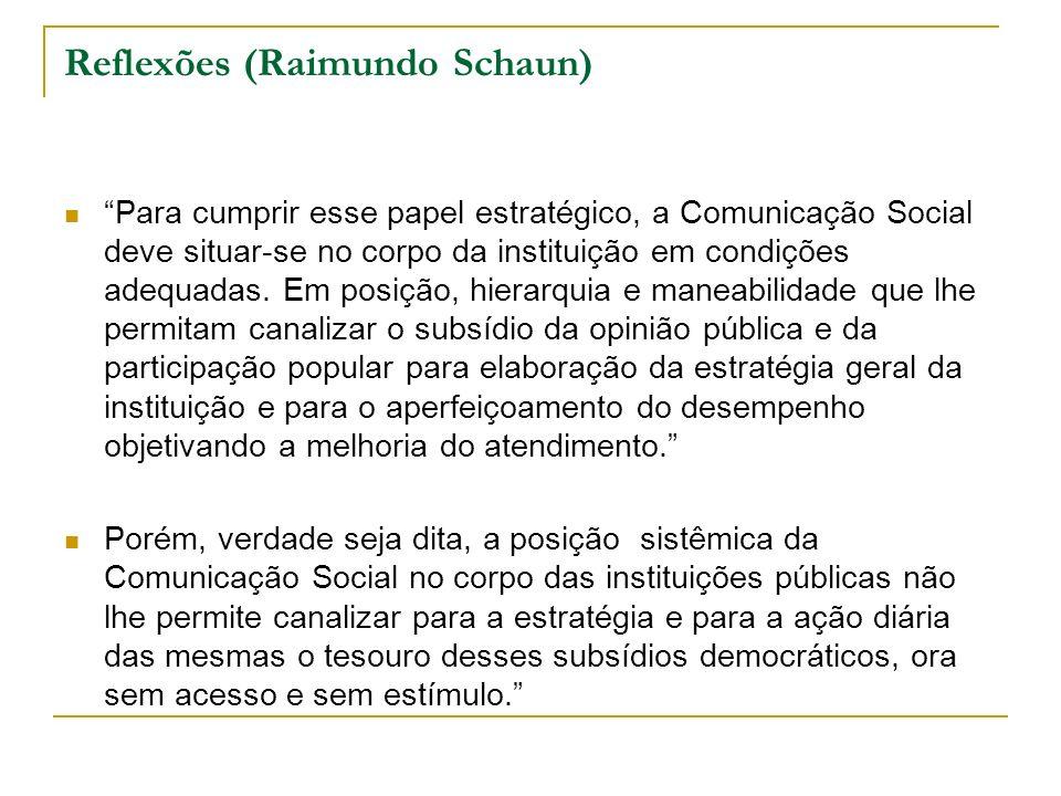 Reflexões (Raimundo Schaun)