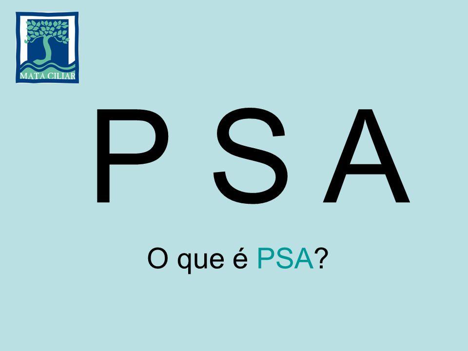 P S A O que é PSA
