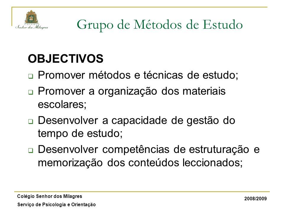 Grupo de Métodos de Estudo