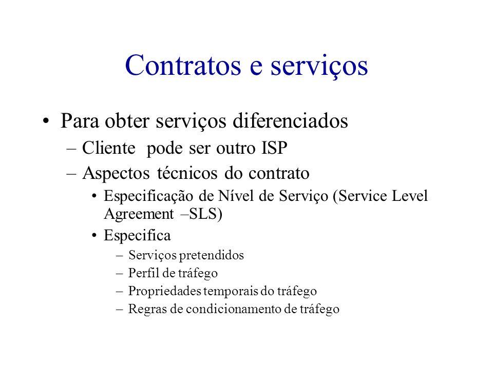 Contratos e serviços Para obter serviços diferenciados