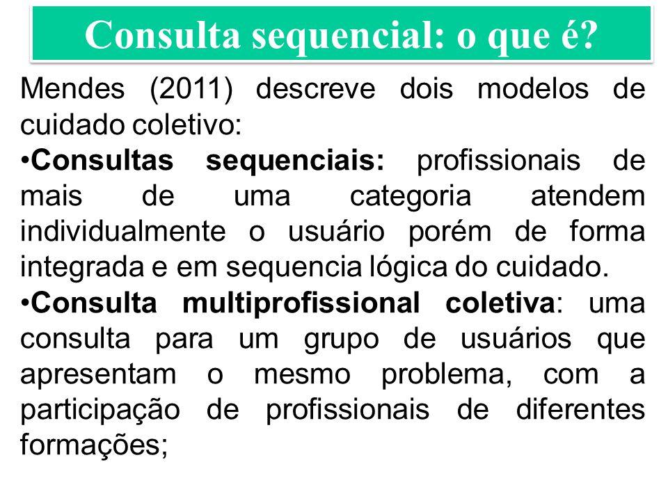 Consulta sequencial: o que é