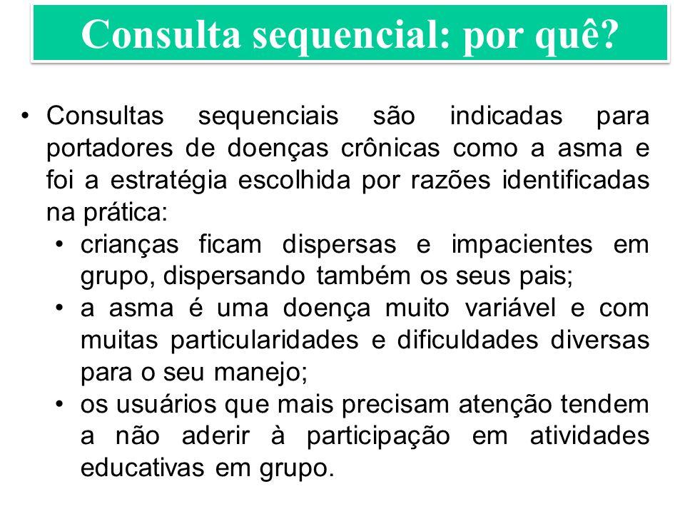 Consulta sequencial: por quê