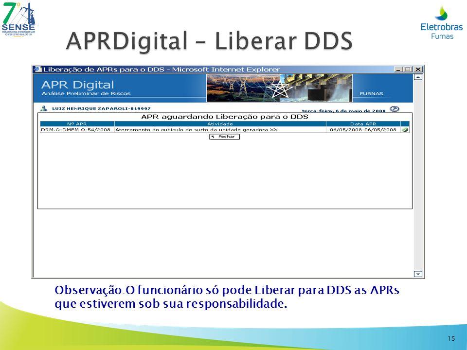 APRDigital – Liberar DDS
