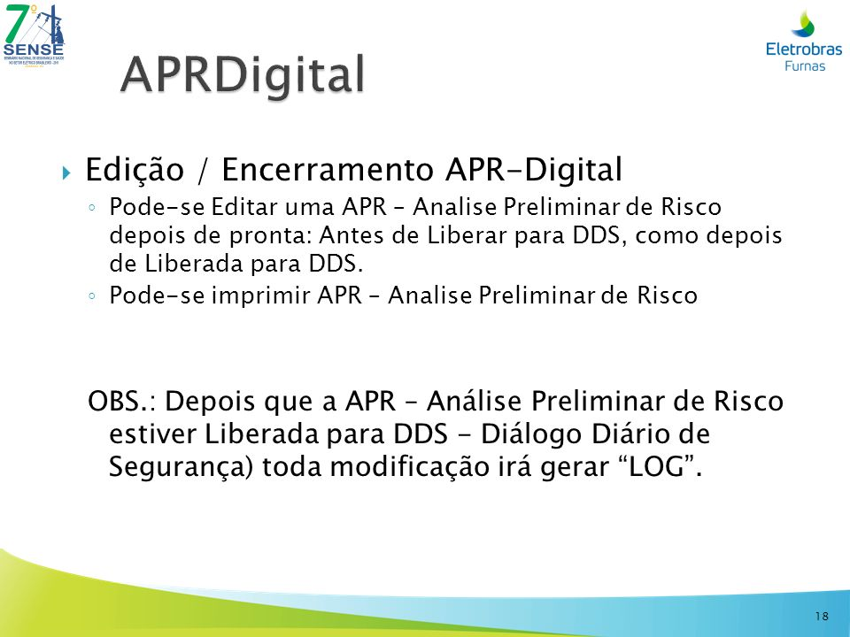 APRDigital Edição / Encerramento APR-Digital
