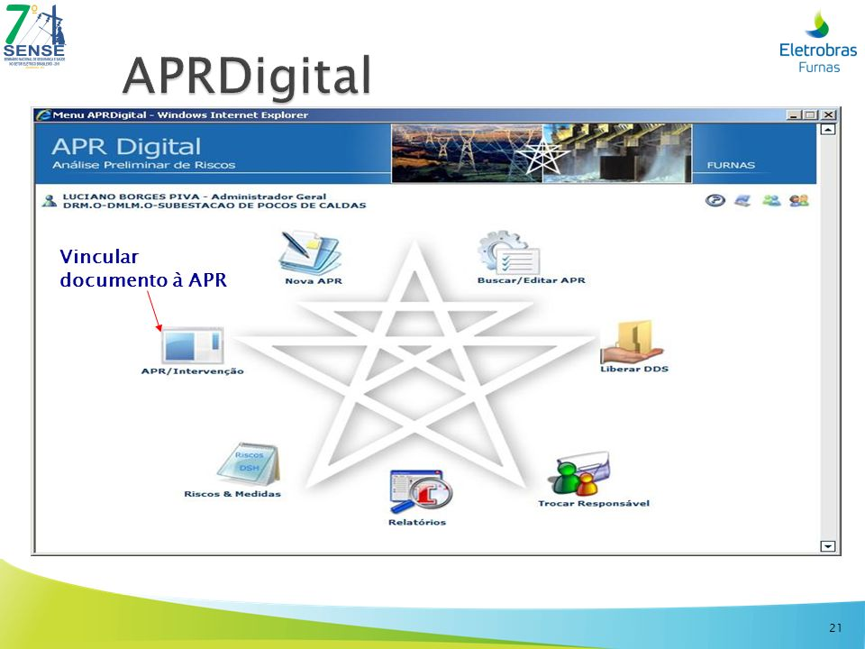 APRDigital Vincular documento à APR