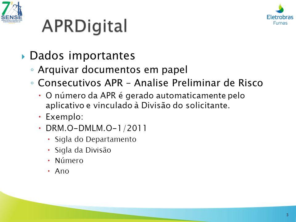APRDigital Dados importantes Arquivar documentos em papel