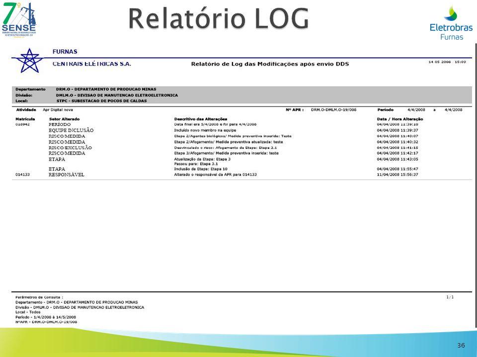 Relatório LOG