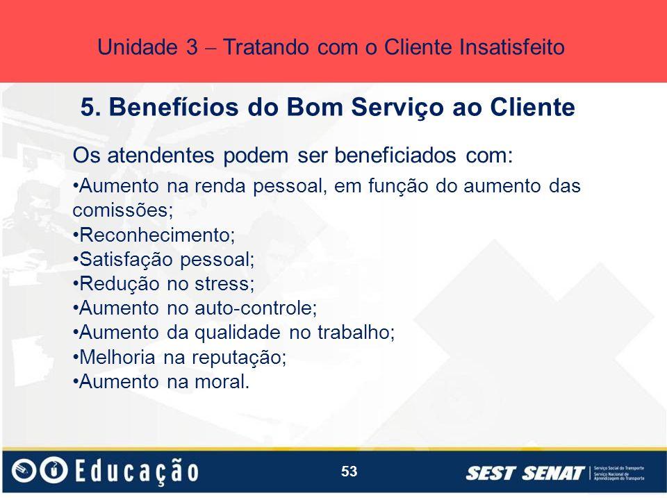 5. Benefícios do Bom Serviço ao Cliente