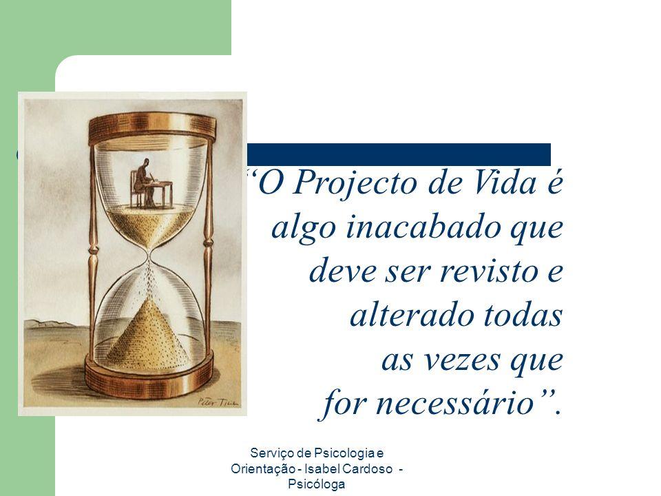 Serviço de Psicologia e Orientação - Isabel Cardoso - Psicóloga