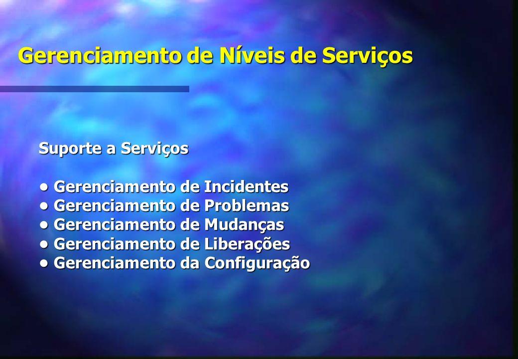 Gerenciamento de Níveis de Serviços