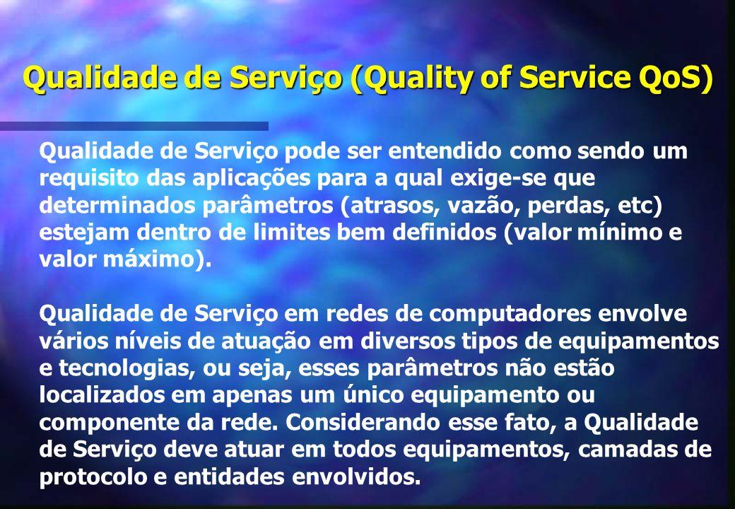Qualidade de Serviço (Quality of Service QoS)