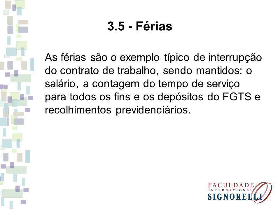 3.5 - Férias
