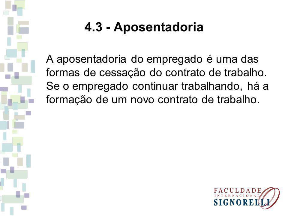 4.3 - Aposentadoria
