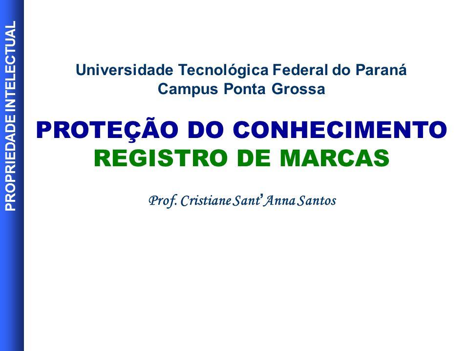 PROTEÇÃO DO CONHECIMENTO REGISTRO DE MARCAS