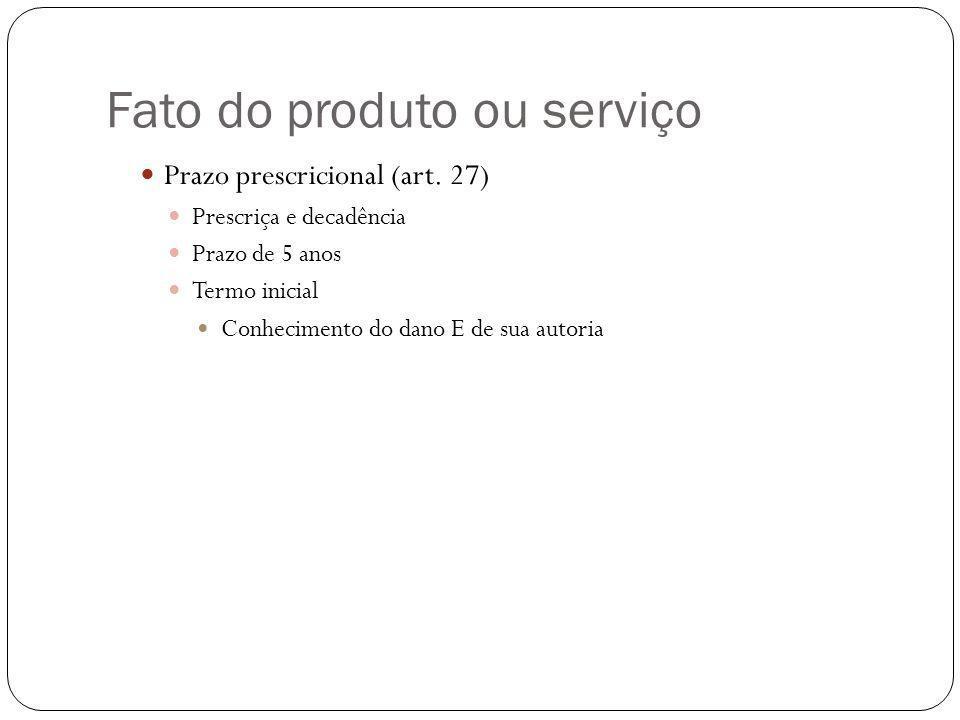 Fato do produto ou serviço