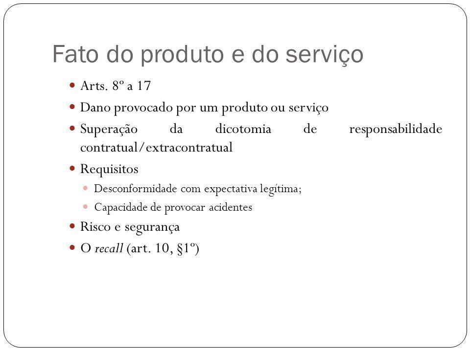 Fato do produto e do serviço