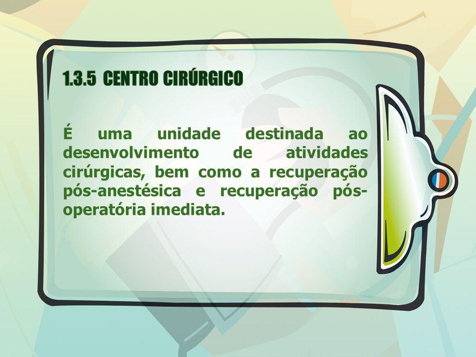 1.3.5 CENTRO CIRÚRGICO