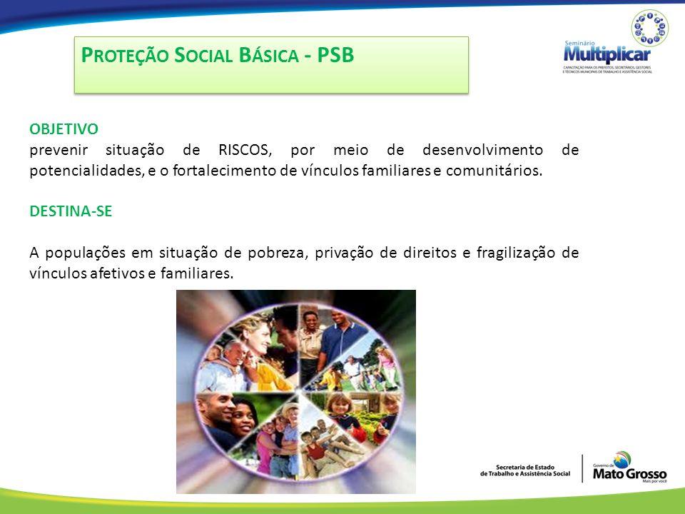 Proteção Social Básica - PSB