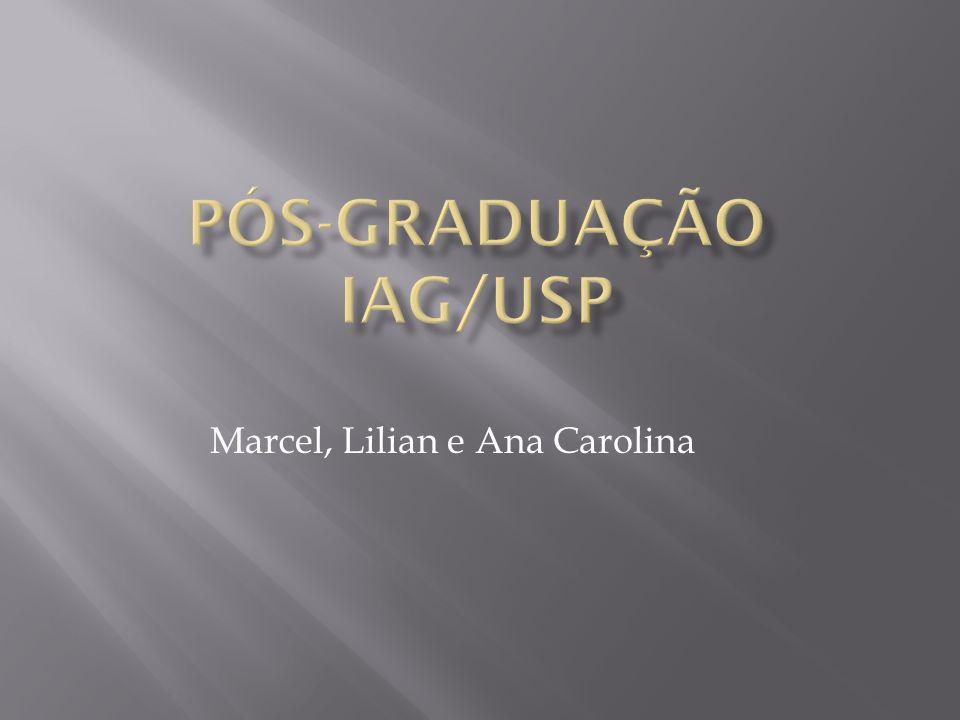 Pós-Graduação IAG/USP