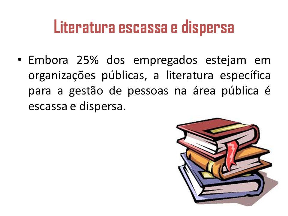 Literatura escassa e dispersa