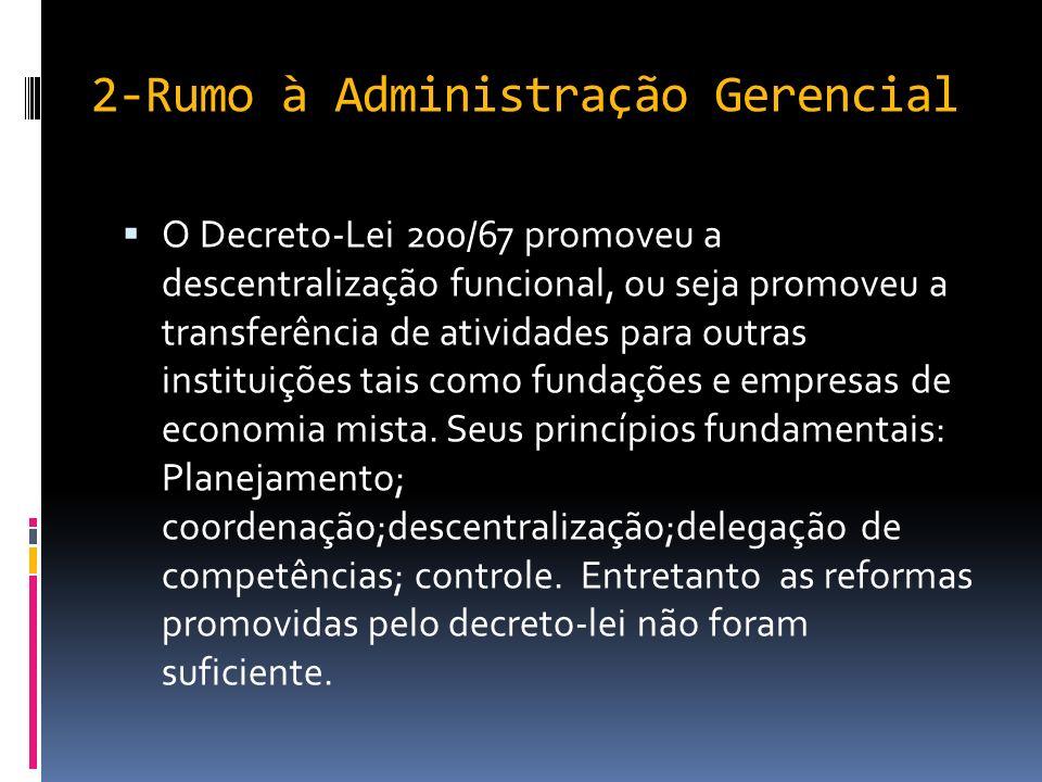 2-Rumo à Administração Gerencial