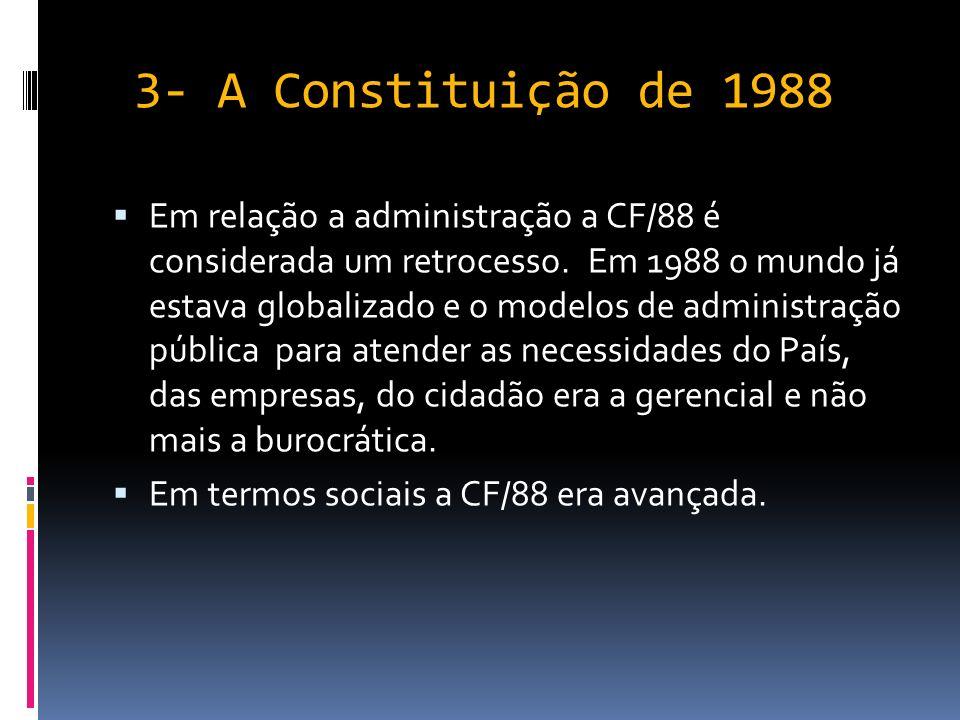 3- A Constituição de 1988