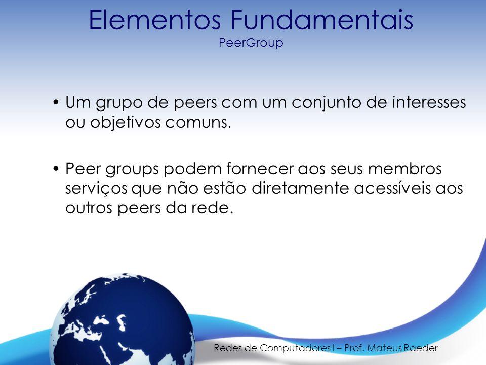 Elementos Fundamentais PeerGroup