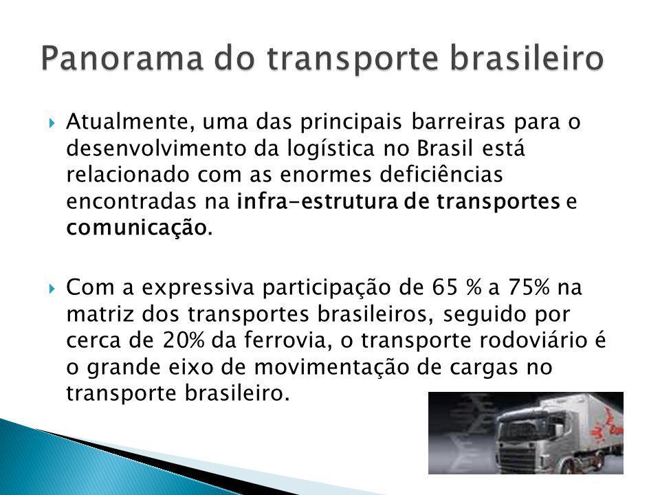 Panorama do transporte brasileiro