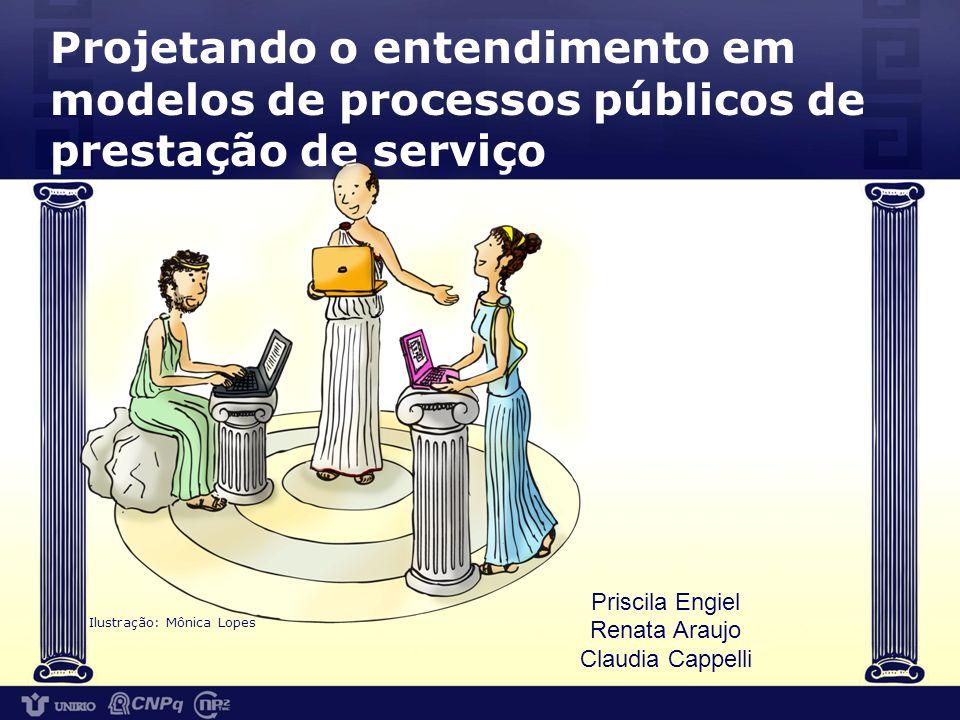 Projetando o entendimento em modelos de processos públicos de prestação de serviço