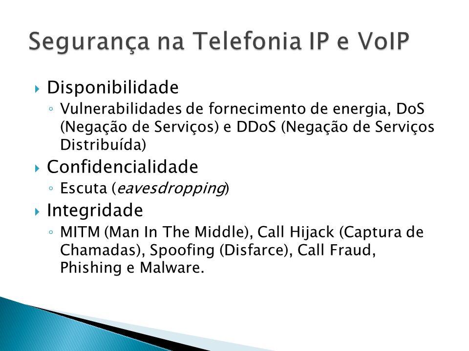 Segurança na Telefonia IP e VoIP