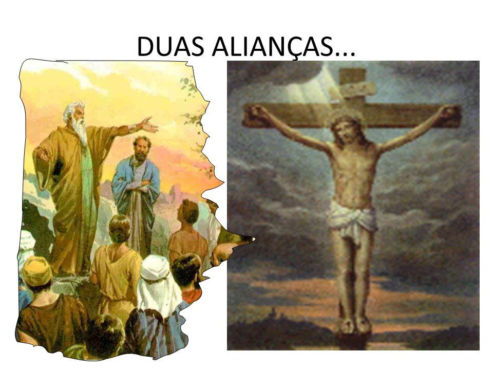 DUAS ALIANÇAS...