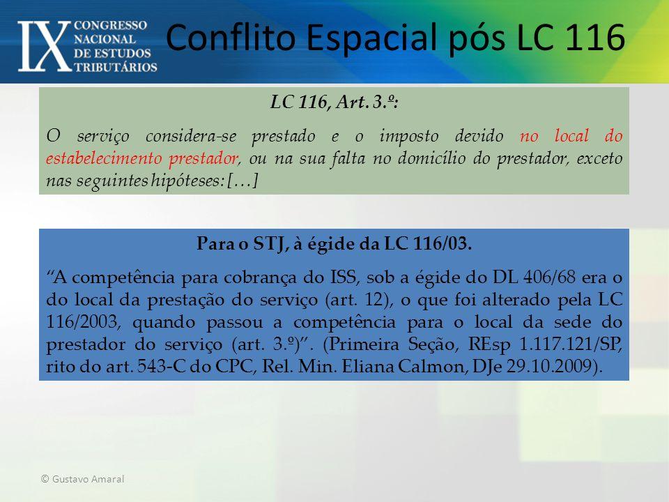 Conflito Espacial pós LC 116