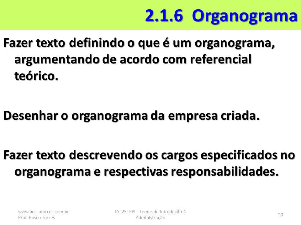 IA_25_PPI - Temas de Introdução à Administração