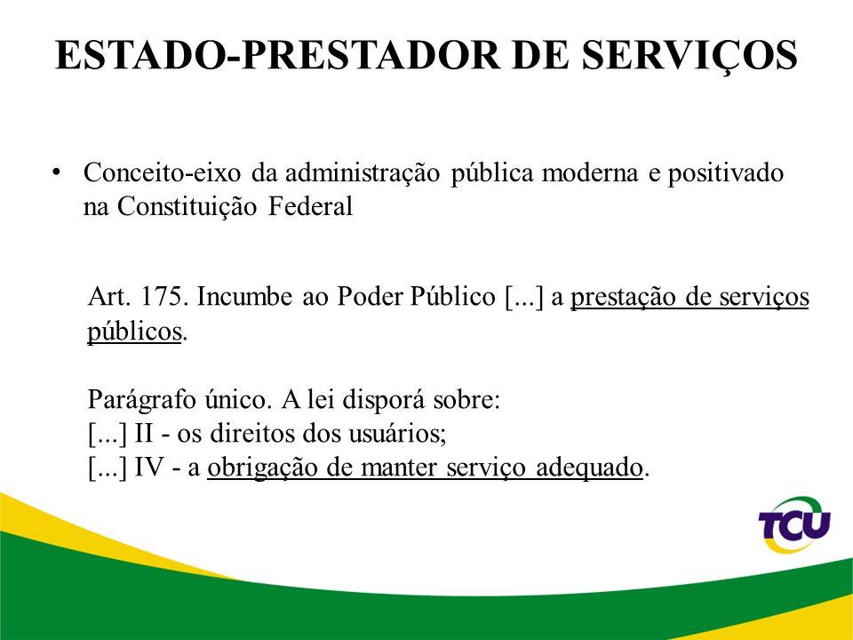 ESTADO-PRESTADOR DE SERVIÇOS