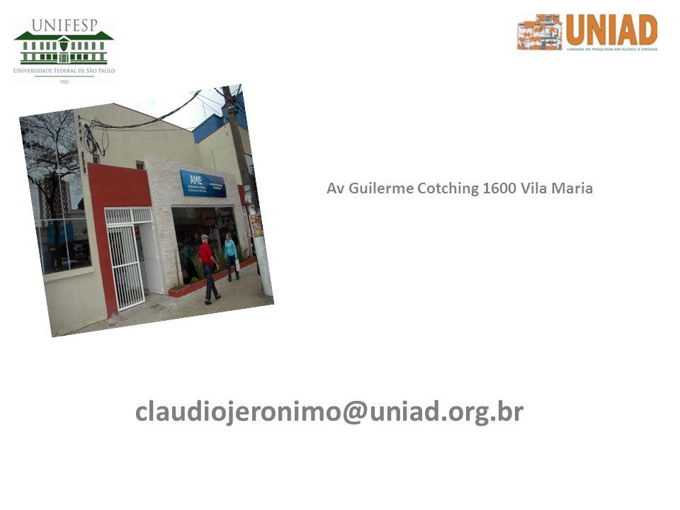 Av Guilerme Cotching 1600 Vila Maria
