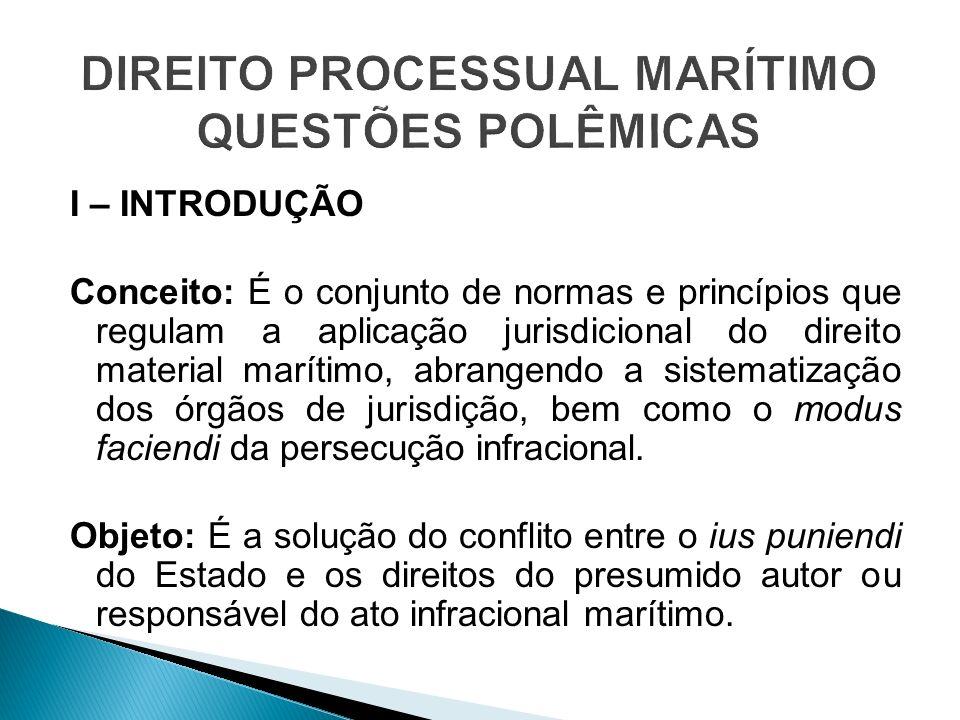 DIREITO PROCESSUAL MARÍTIMO QUESTÕES POLÊMICAS